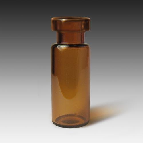 11222-CASE 11mm, 12 x 32 2mL Wide Mouth Amber Glass Crimp Vials