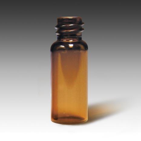 21232-CASE 8mm, 2mL Volume, 12 x 32 Amber Glass Screw Vial
