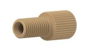 """59330X PEEK Flangeless Male Nut for 1/8"""" OD Tubing"""