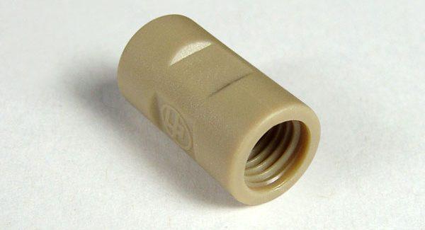 59135 PEEK Threaded Adapter, 5/16-24 to 1/4-28