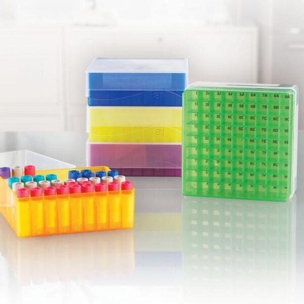 FSRAS 81-Well Freezer Storage Racks – Assorted