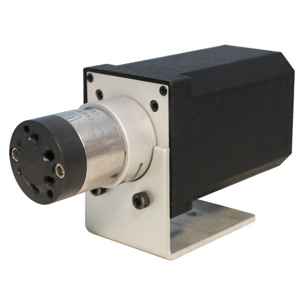 22206 C2 SS Prep Valve - 2 Position, 6 Port with Microelectric Actuator