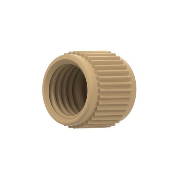 59416 PEEK Female Nut for Micro Tee/Cross, 5/16-24