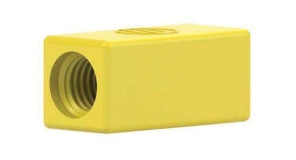 59621 Teflon Metric Adapter - 1/4-28 to M6
