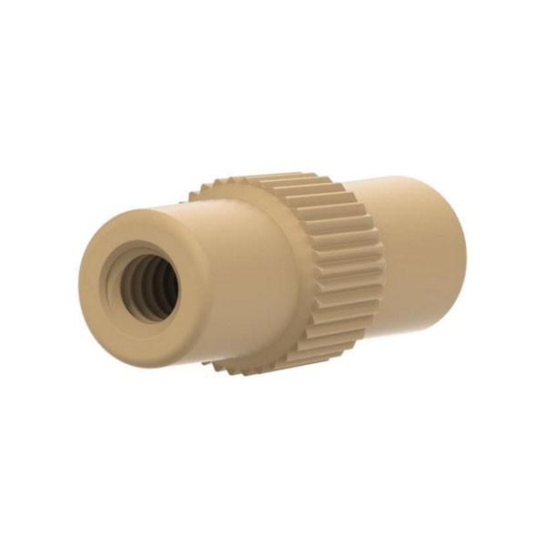 59720 PEEK Microtight Union, 6-32 to 6-32