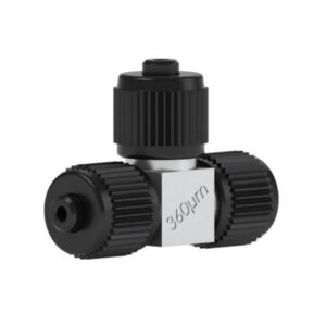 82360 Ultra High Pressure PEEK/SS Micro Tee for 360µm OD Tubing