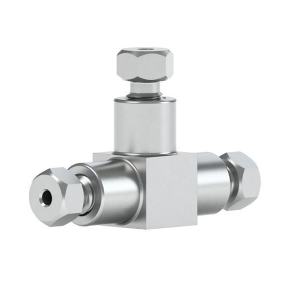 """84163 Ultra High Pressure SS Tee for 1/16"""" OD Tubing"""